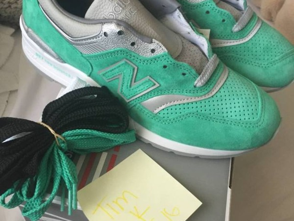 """New Balance M997 ConceptsNew York Rivalry Pack """"Mint"""" - photo 1/1"""