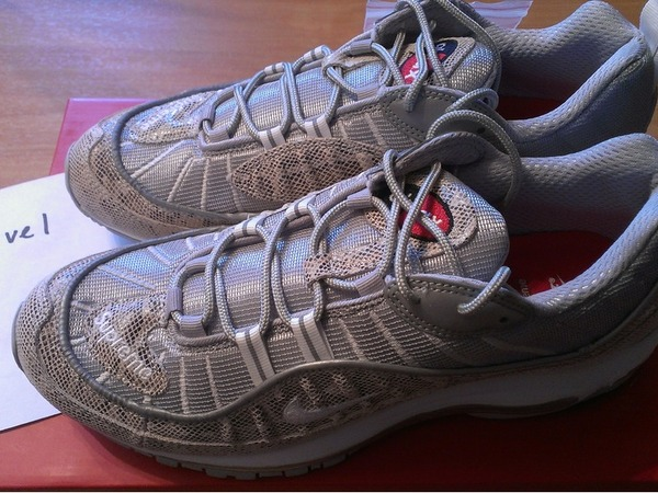 <strong>Nike</strong> <strong>Air</strong> <strong>Max</strong> <strong>98</strong> <strong>x</strong> <strong>Supreme</strong> <strong>Snakeskin</strong> - photo 1/3