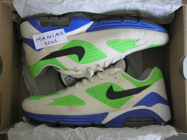 <strong>Nike</strong> <strong>Lunar</strong> <strong>Air</strong> <strong>180</strong> x <strong>Size</strong>? UK Exclusive Electric Green - photo 1/4