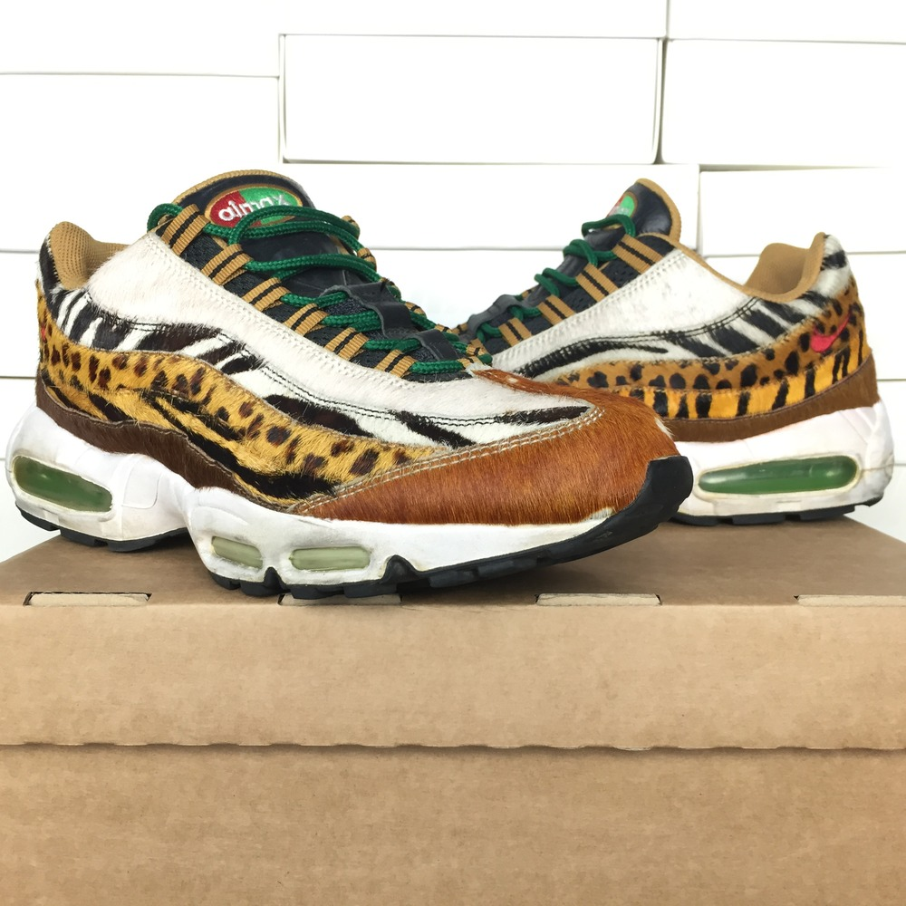 premium selection da25b 48763 nike air max supreme animal pack