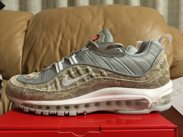 <strong>Nike</strong> <strong>Air</strong> <strong>Max</strong> <strong>98</strong> <strong>x</strong> <strong>Supreme</strong> <strong>Snakeskin</strong> - photo 1/4