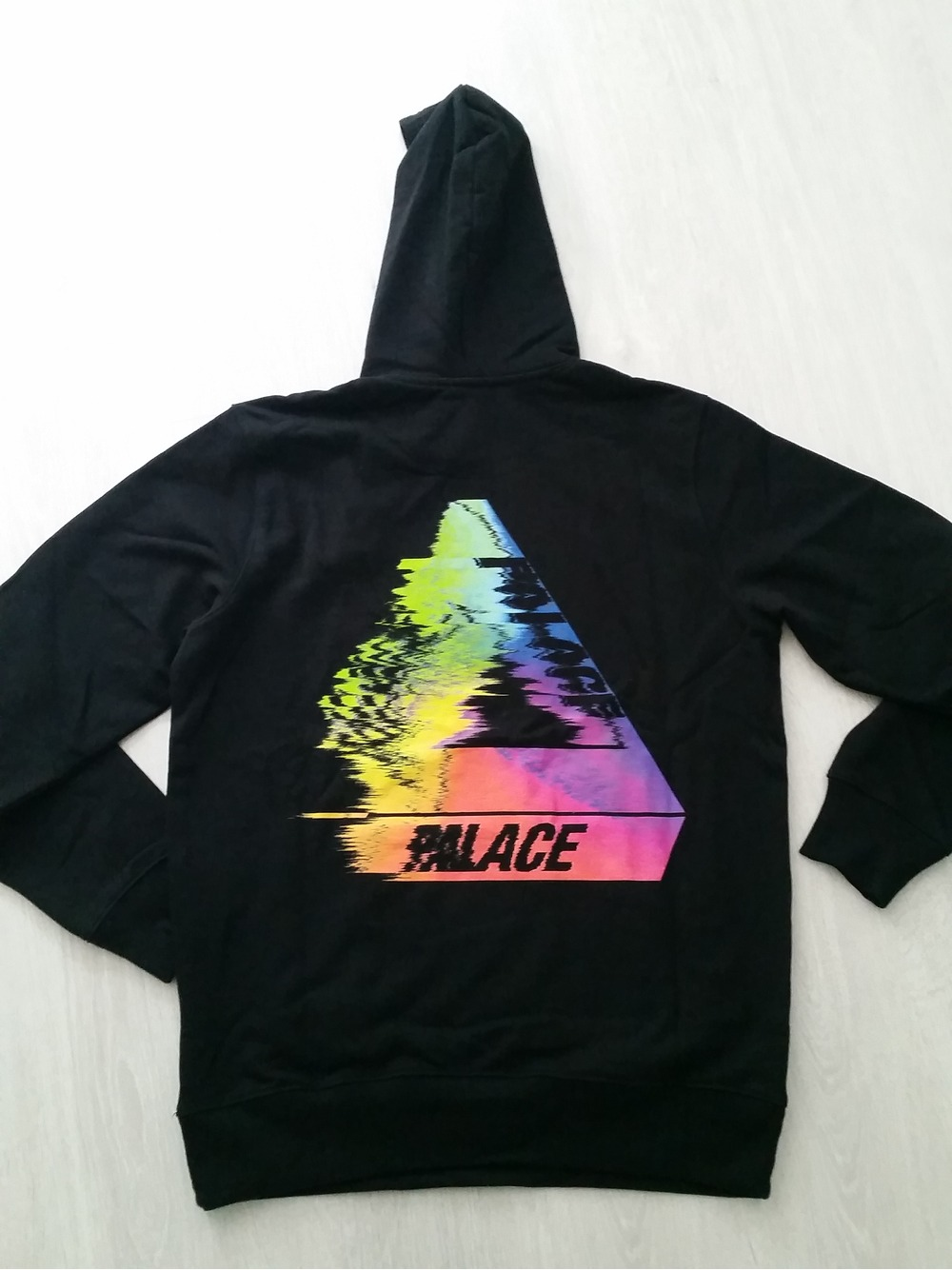 Palace Skateboards TRI-SMUDGE Hoodie Black XL (#354128) From Troopa At KLEKT