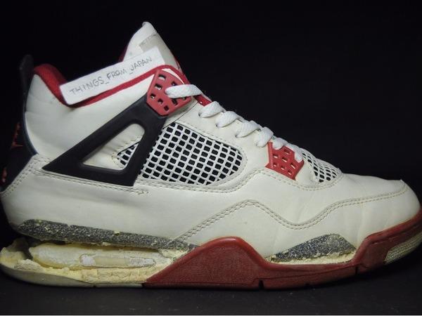 Jordan AIR JORDAN 4 Fire Red 1989 OG ABSOLUTE BEAUTIES.... - photo 1/6
