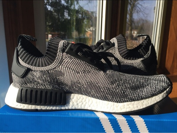 Adidas Nmd Runner Pk R1 Primeknit Black S79478 Size US 9 - photo 1/7