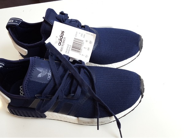 Adidas NMD_R1 Collegiate Navy - photo 1/8