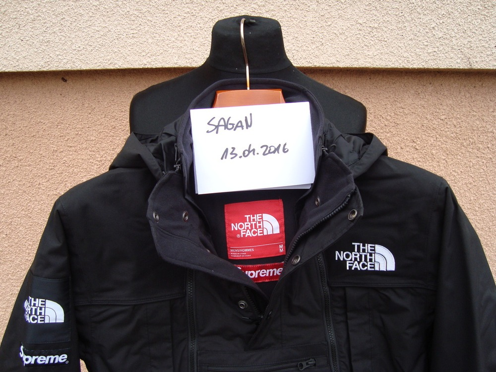 ... usa supreme x the north face steep tech jacket black size m photo 9 9  74e22 3914a810a