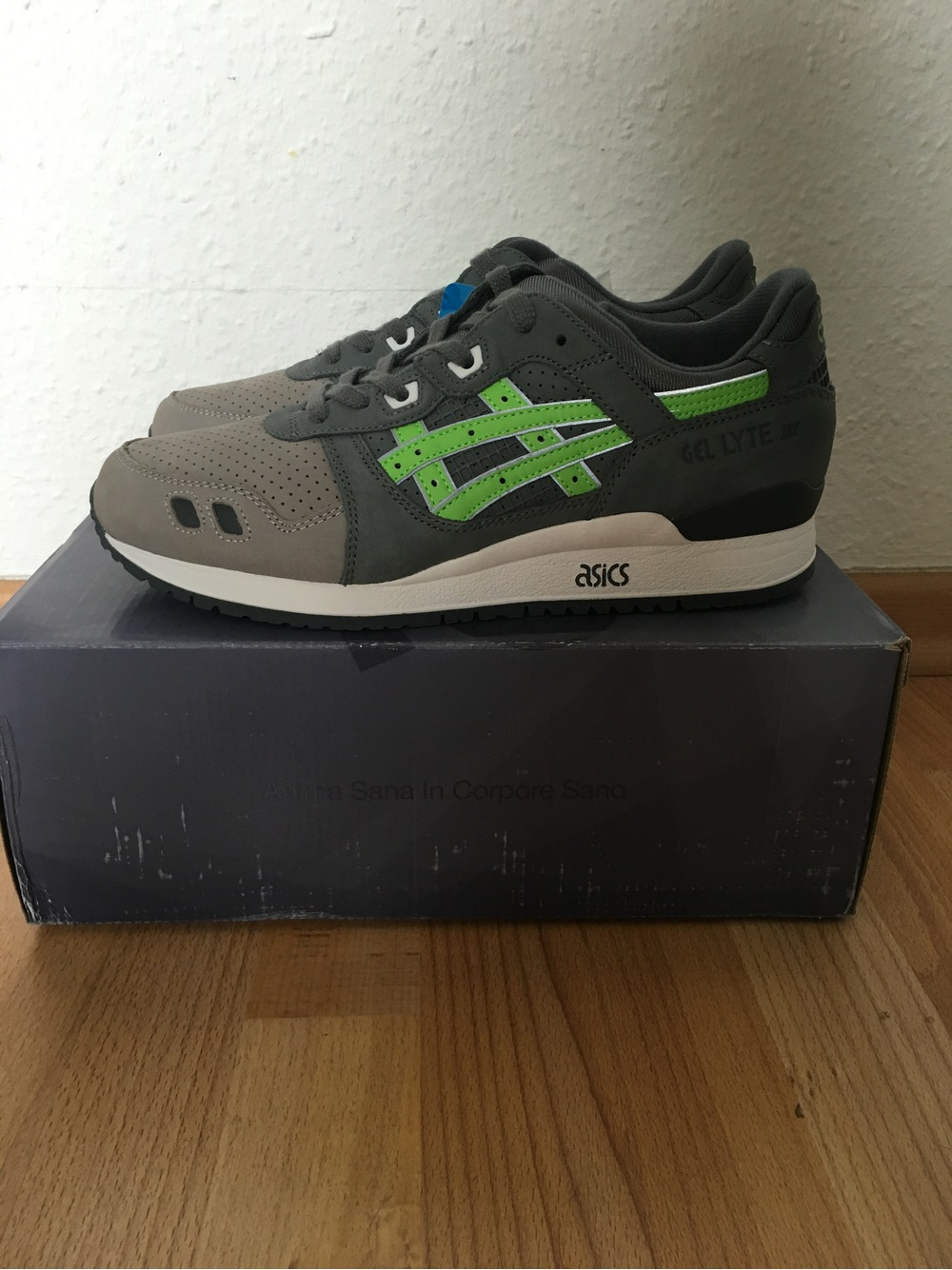free shipping 06ffd 7eca0 Buy asics gel lyte 3 super green > Up to OFF76% Discounted