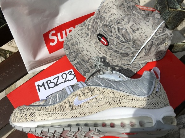 <strong>Nike</strong> <strong>Air</strong> <strong>Max</strong> <strong>98</strong> <strong>X</strong> <strong>Supreme</strong> <strong>snakeskin</strong> - photo 1/2