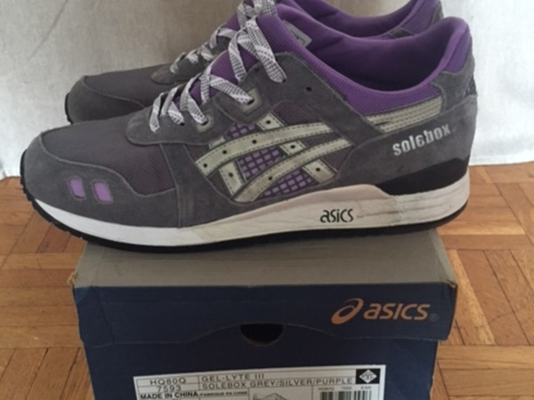 Asics Gel Lyte III solebox - photo 1/4