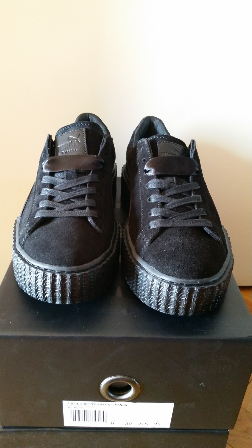 low priced 4e80b fe837 Puma Fenty Creepers All Black wearpointwindfarm.co.uk