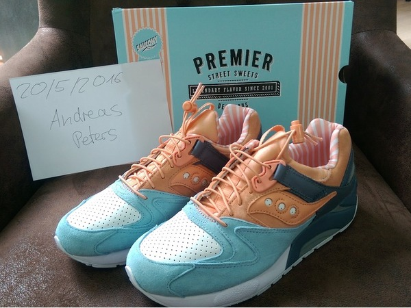 "Saucony PREMIER X SAUCONY GRID 9000 ""Street Sweets"" - photo 1/1"