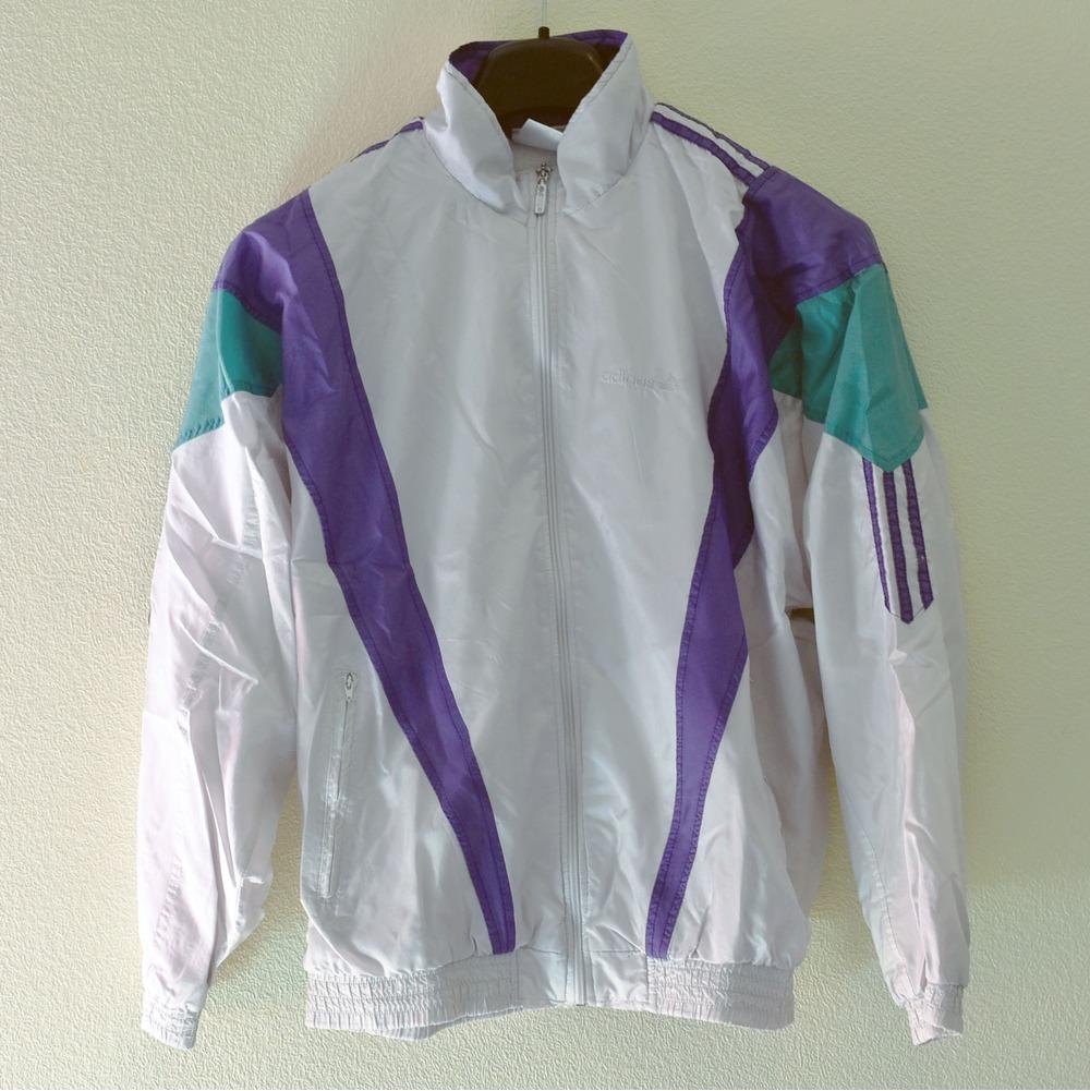 Adidas Vintage Track Jacket Windbreaker 358670 From