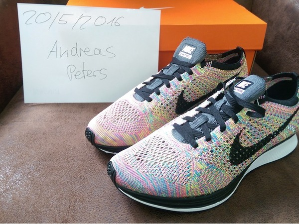 Nike Flyknit Racer 3.0 Multicolor - photo 1/1