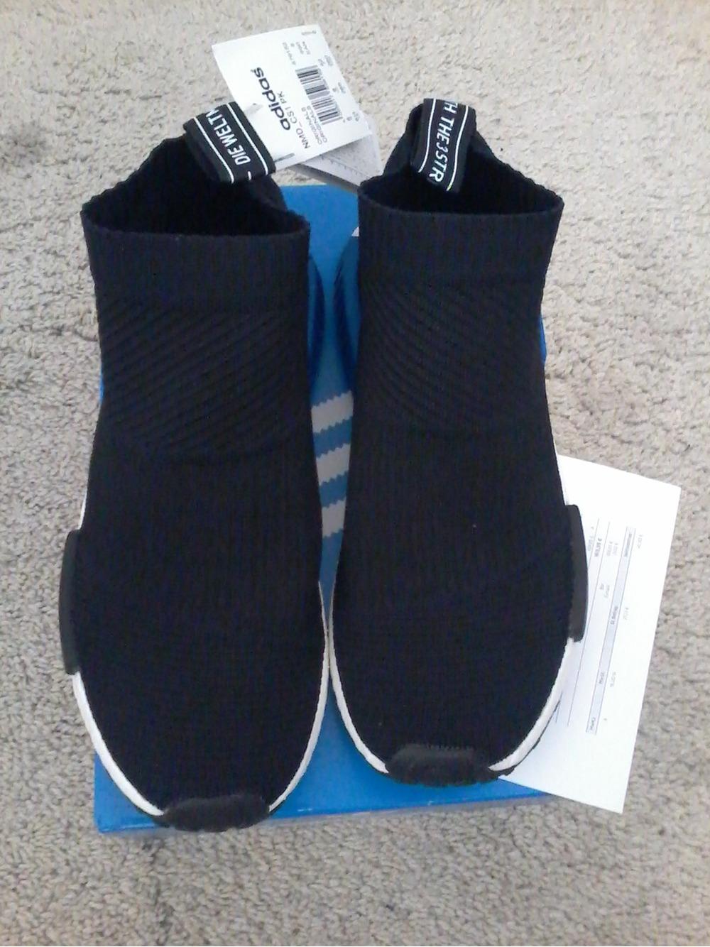 separation shoes 2522f fe490 Adidas NMD CS1 PK Winter Wool S32184 City Sock Black US 13