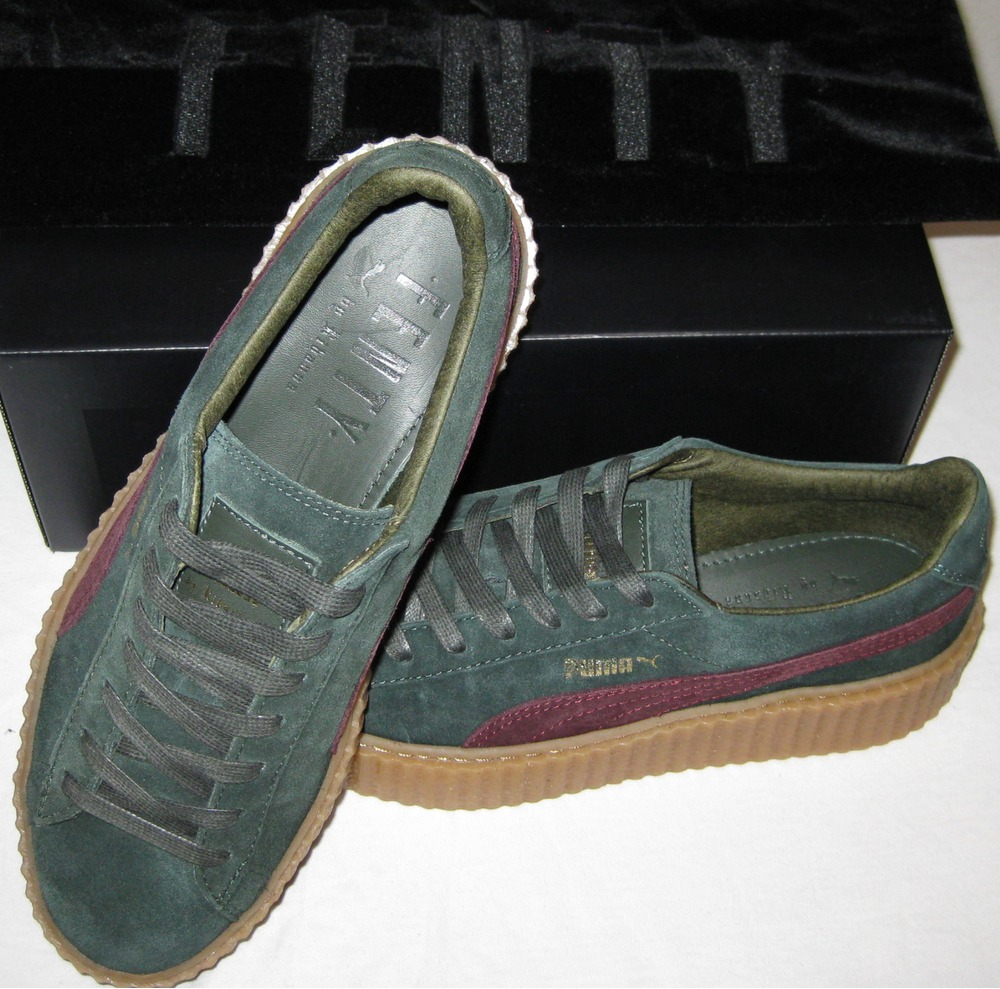puma creepers green. Black Bedroom Furniture Sets. Home Design Ideas