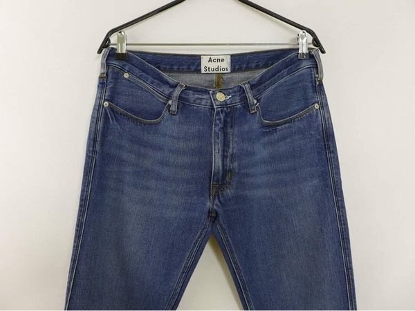 <strong>Acne</strong> Studios Max Vintage Slim Fit Jeans Size W33 L32 - photo 1/3
