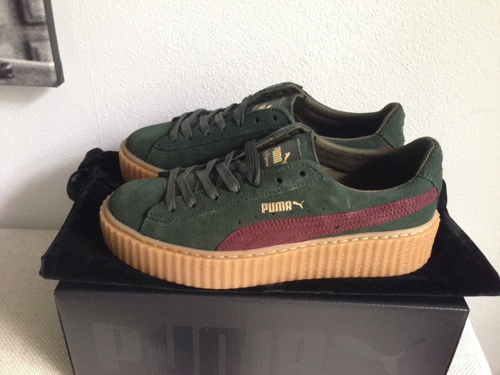 puma creeper bordeaux