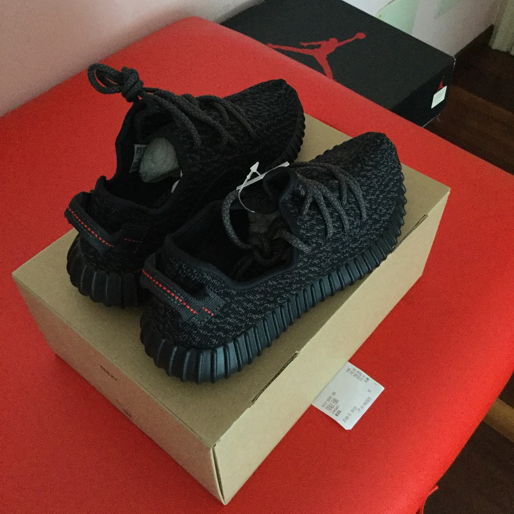 ... discount code for adidas yeezy boost 350 pirate black us 7 2015 release  photo 4 4 4ab2b646c