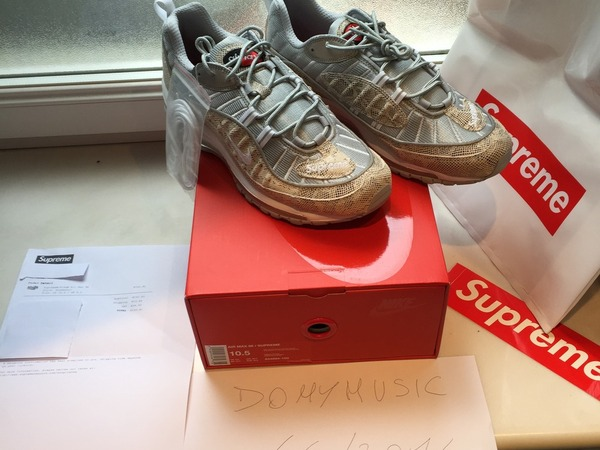 <strong>Nike</strong> Airmax <strong>98</strong> <strong>Supreme</strong> - photo 1/8