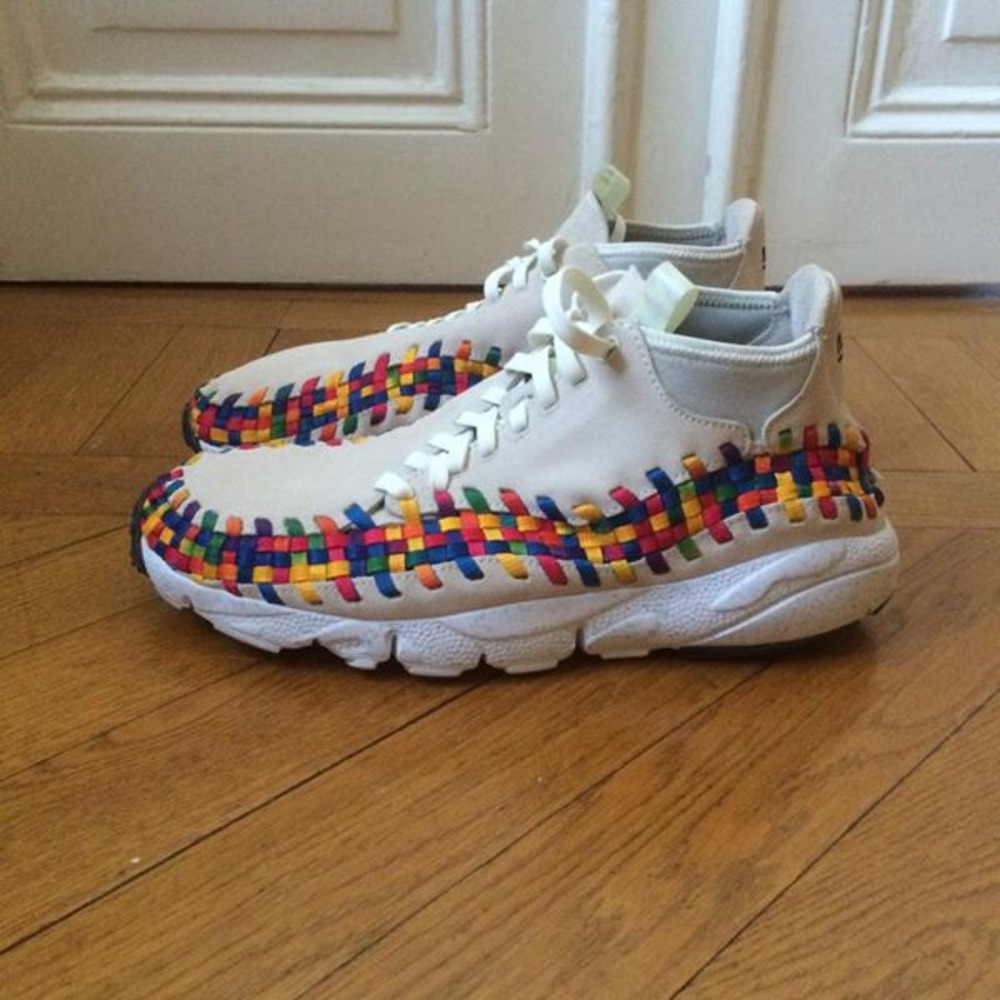 official photos 80257 bc308 nike air woven footscape rainbow