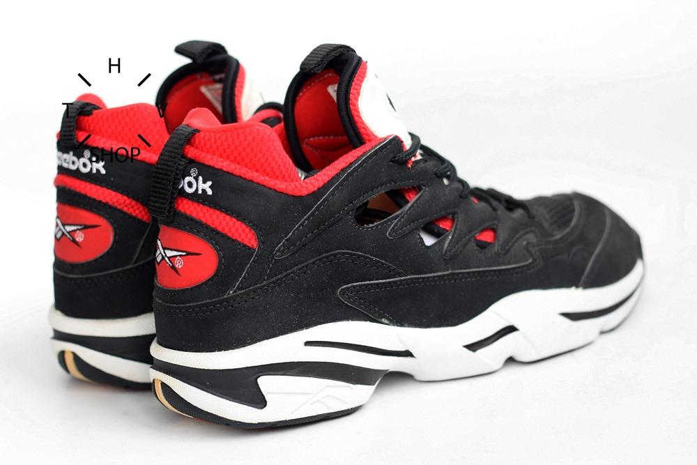 1993 Reebok Basketball Hoop Axiom Mid Sneakers Vintage Ds f732e2864