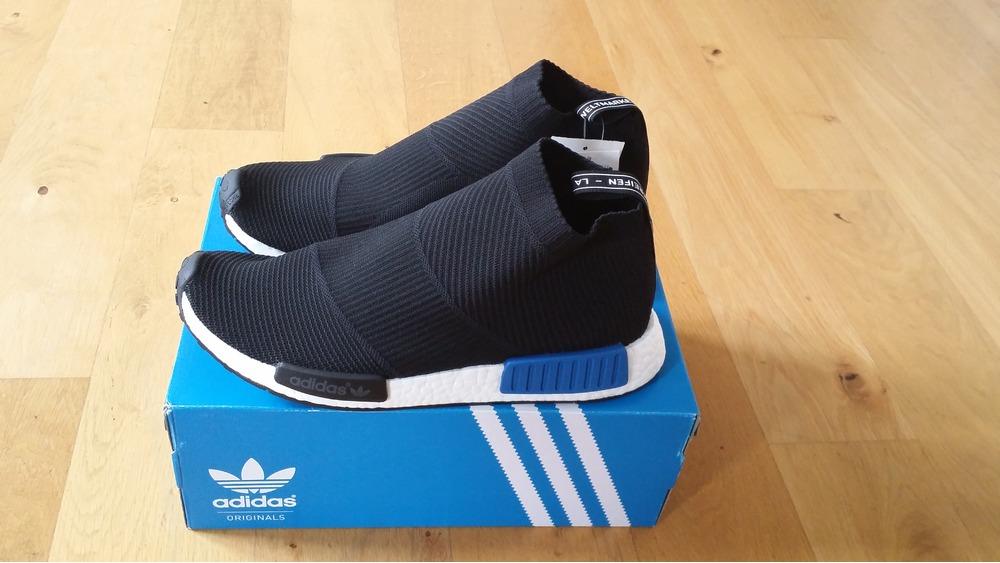 Adidas NMD C1 OG Chukka S79148 Black Red Blue UK 11 Shoes