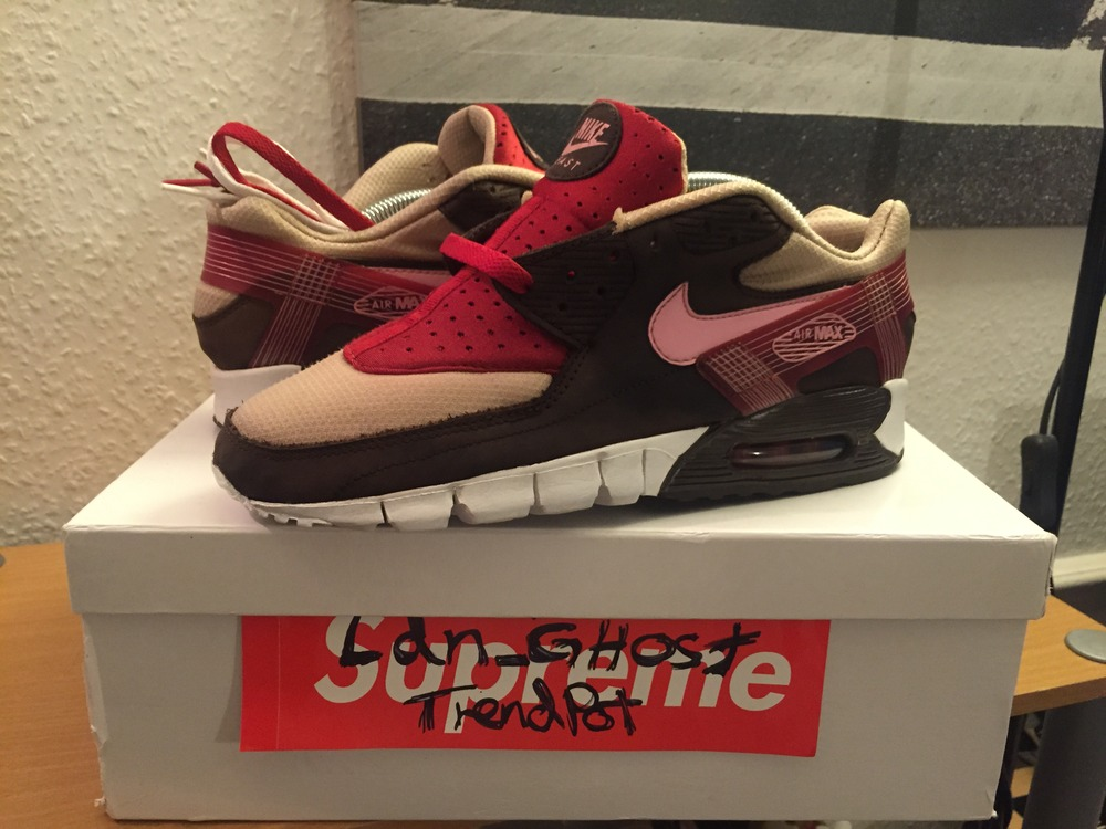 separation shoes 95d88 35fd1 Nike Air max 90 Current DQM Bacon - UK 7 US 8 - Patta .
