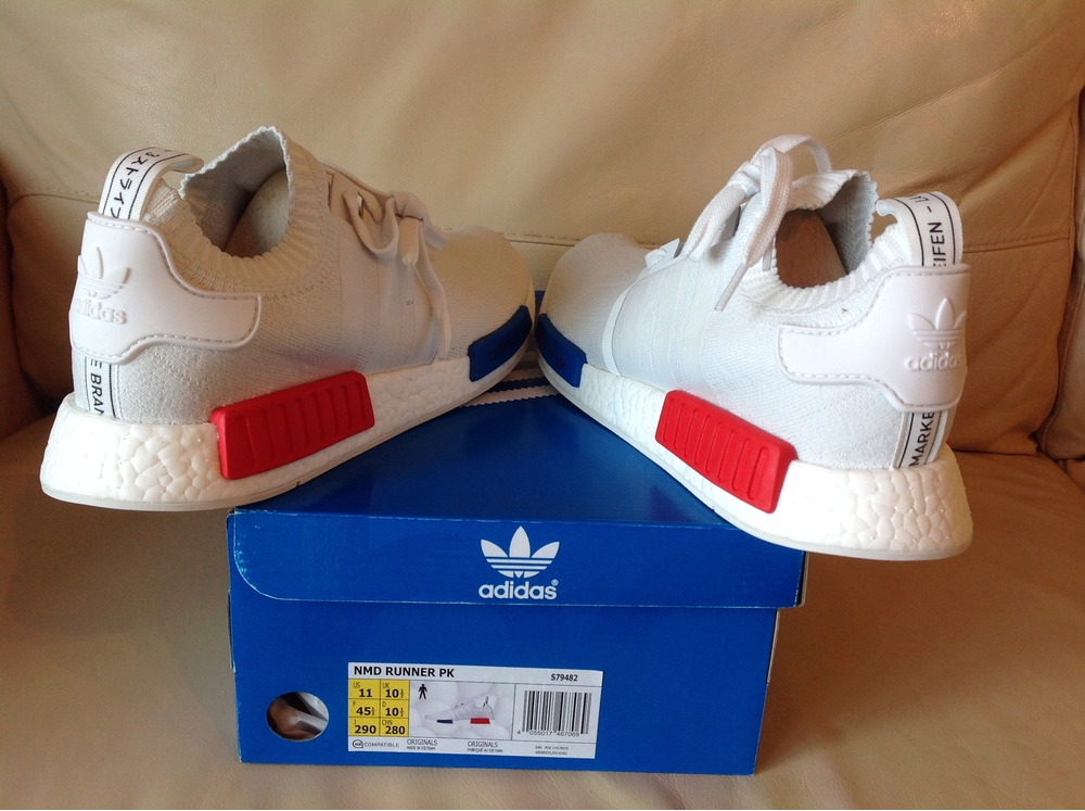 673ed463a Adidas Nmd R1 Primeknit Og White kenmore-cleaning.co.uk