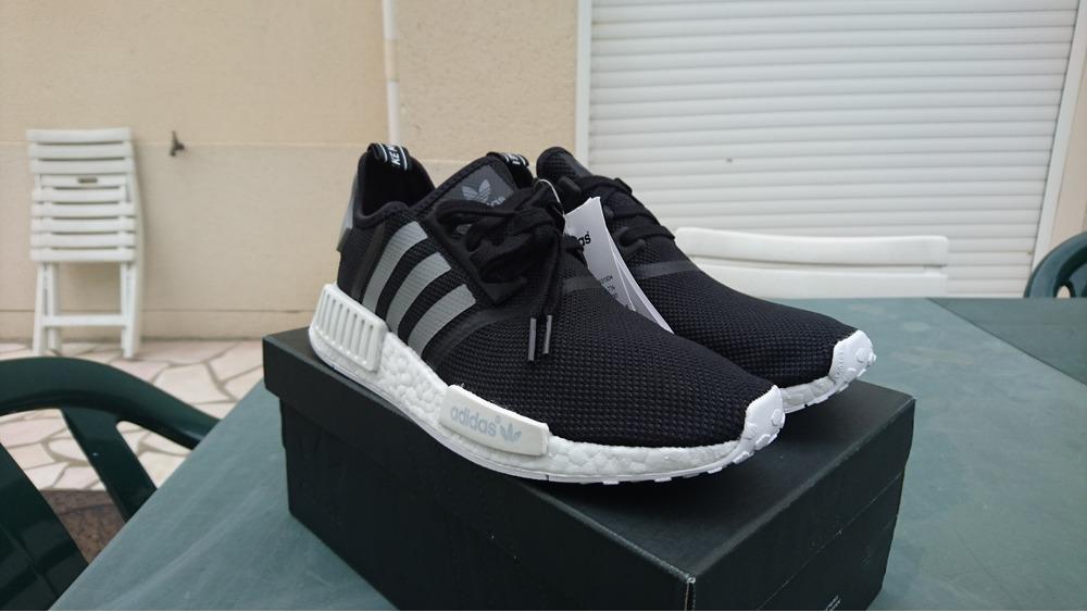 outlet store ccb54 918f3 Adidas nmd xr 1 pk triple black primeknit city sock zebra pirate