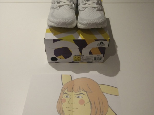 WTS: DS US7 <strong>Adidas</strong> <strong>Ultra</strong> <strong>Boost</strong> <strong>Triple</strong> <strong>White</strong> 2.0 - photo 1/2