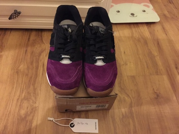 New Balance x solebox M575BPW 'Purple Devil' - photo 1/2