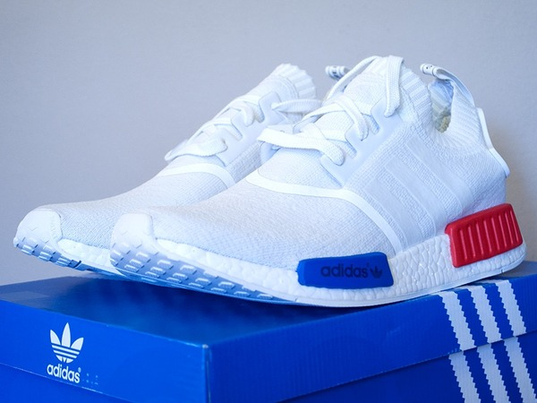 "Adidas NMD_R1 Primeknit OG ""White"" 