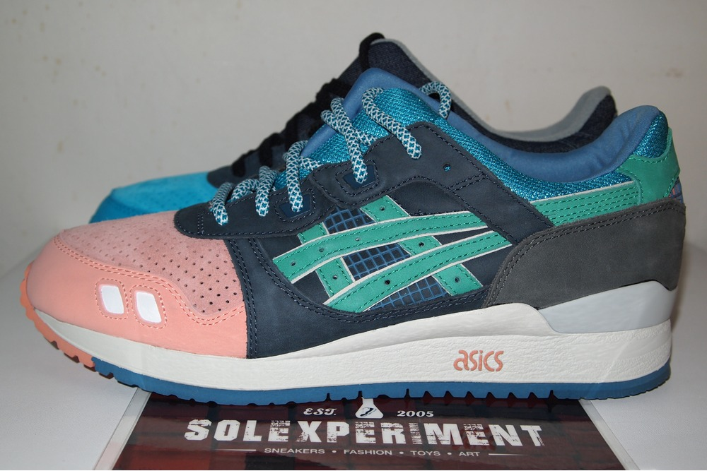 outlet store d176b bf7b4 Buy ronnie fieg x asics gel lyte iii super green cheap