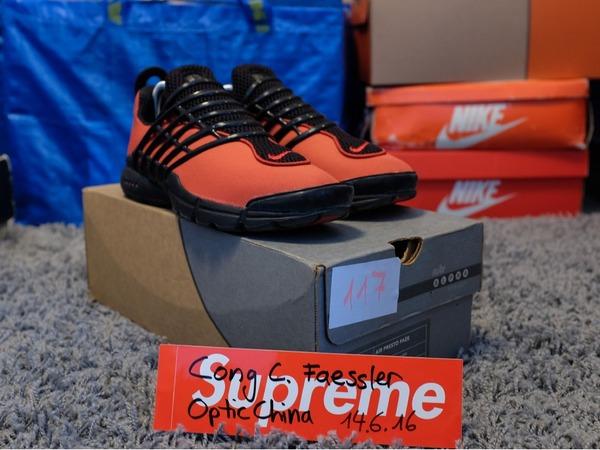 <strong>Nike</strong> <strong>Air</strong> <strong>Presto</strong> Faze - Orange Black - photo 1/8