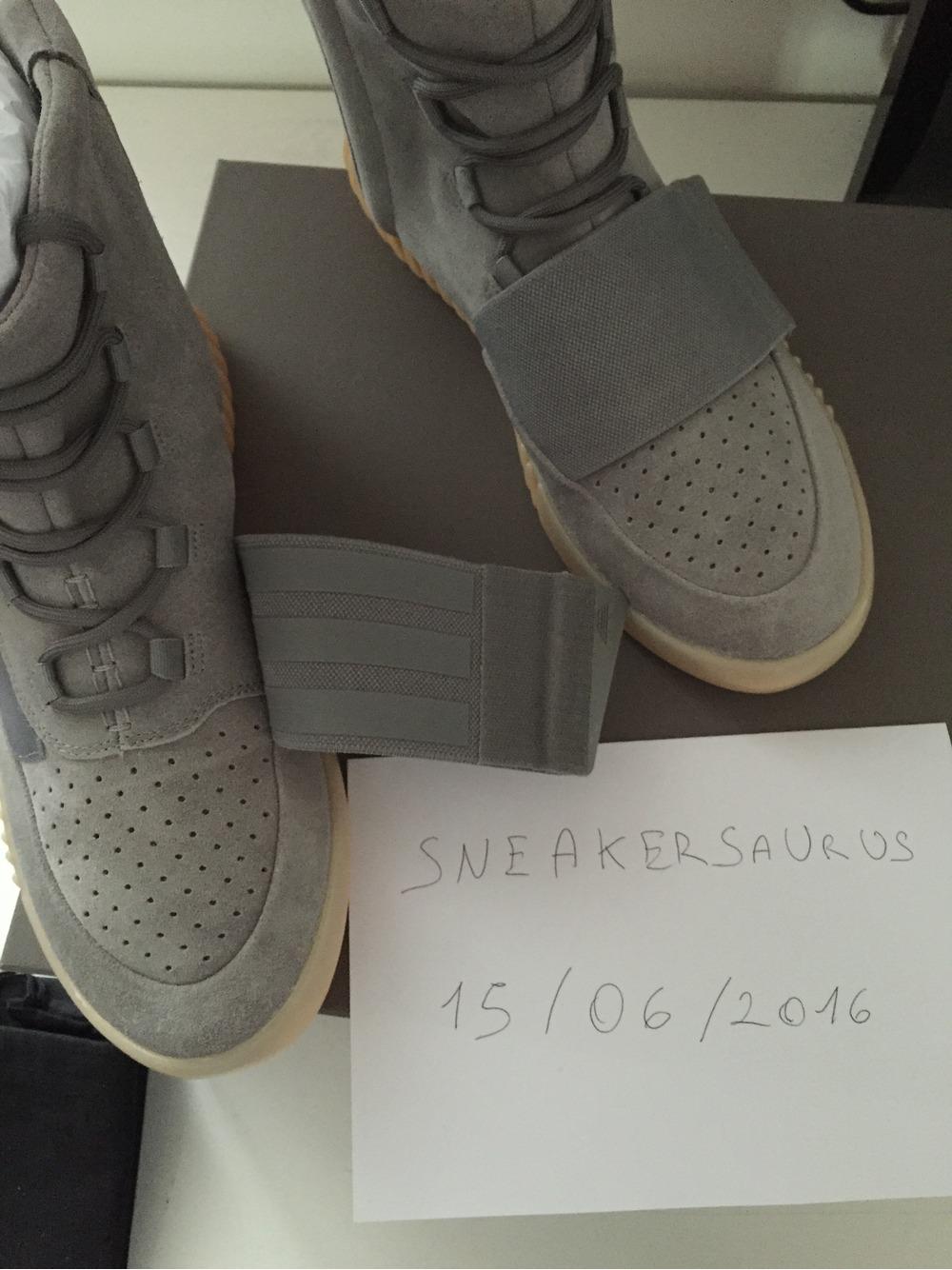 dc4fe8fe285b6 ... Adidas Yeezy Boost 750 light grey   gum size 10.5us 10 uk BB1840 -  photo ...