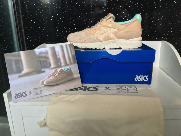 Asics GEL Lyte Asics X Offspring Covent Garden Market 20th Anniversary uk7 DS with All EXTRAS PACK - photo 1/2