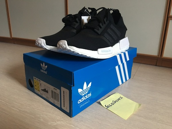 Adidas NMD PK Runner monochrome primeknit black ba8629 - photo 1/3