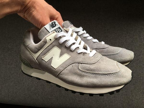 New Balance M576 576 vintage US9 grey white (577 576 670 991 990 997 998 1300 1500) - photo 1/9