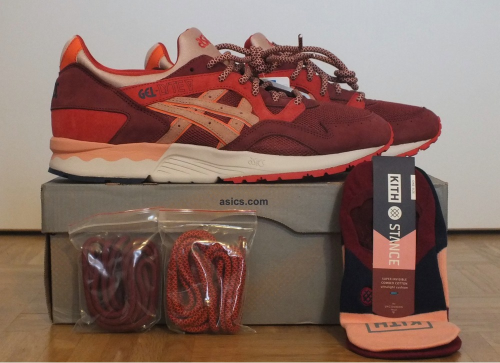 best loved ca287 61b25 ronnie fieg x asics gel lyte v volcano european release