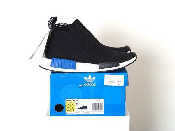 Adidas NMD City Sock CS1 PK Black Tokyo S79152 US7 - UK6.5 - EUR40 - photo 1/1