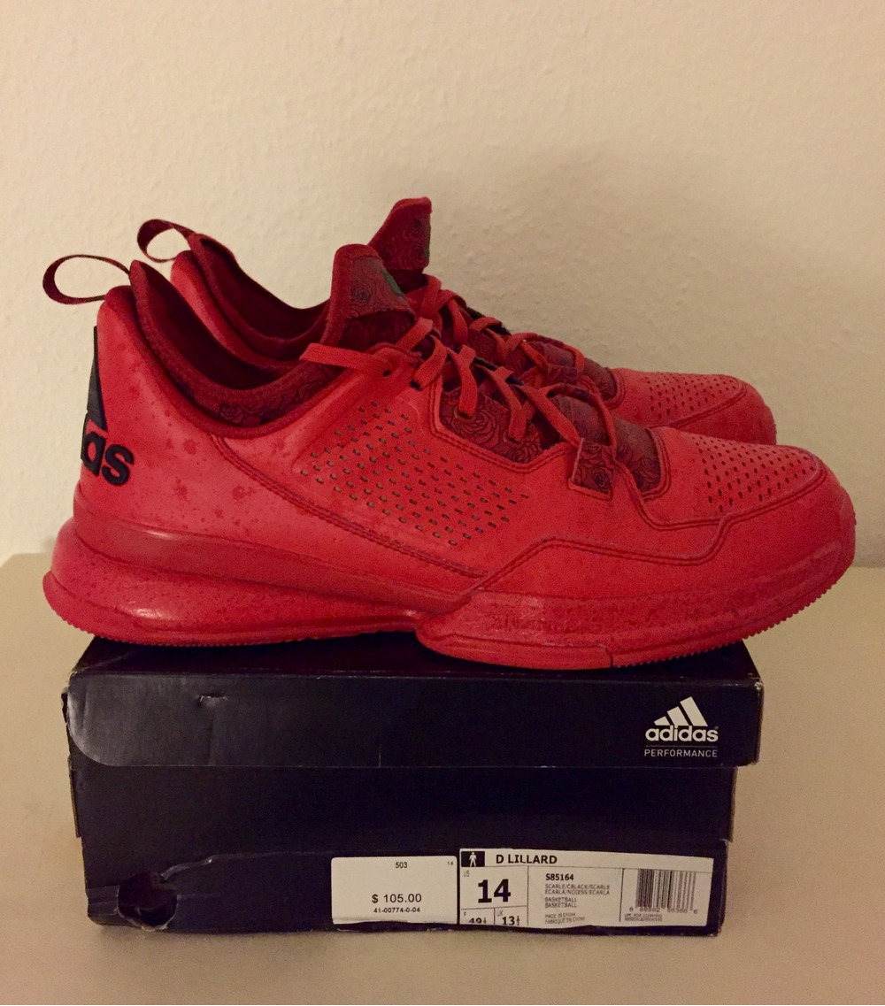 finest selection 35f56 1627d Buy adidas d lillard 1 rose city   OFF64% Discounted