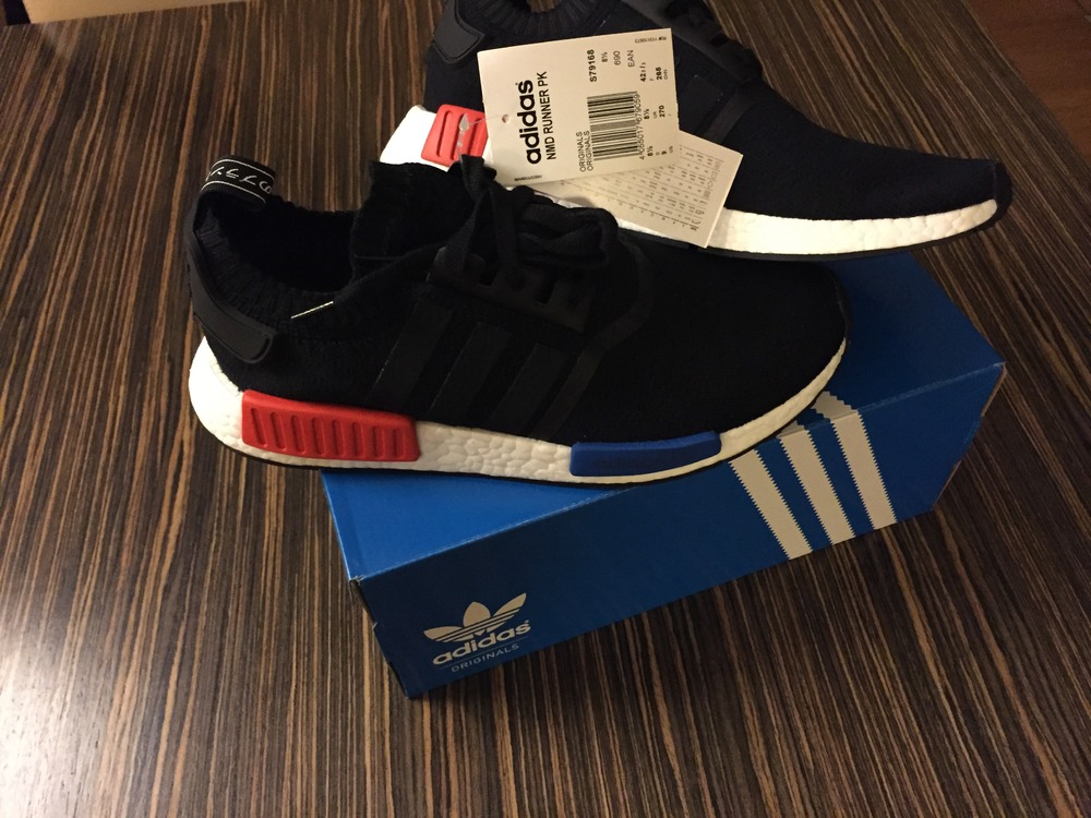 Adidas NMD PK SIZE US9 NEW 100% ORIGINAL - photo 1/2