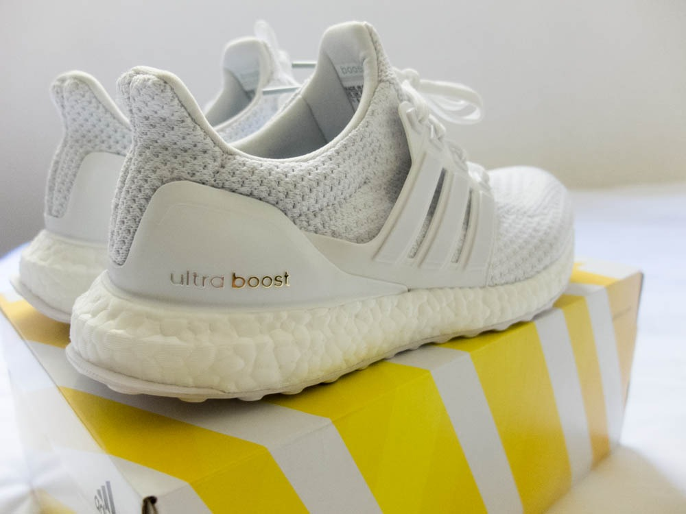 how to clean white ultra boost