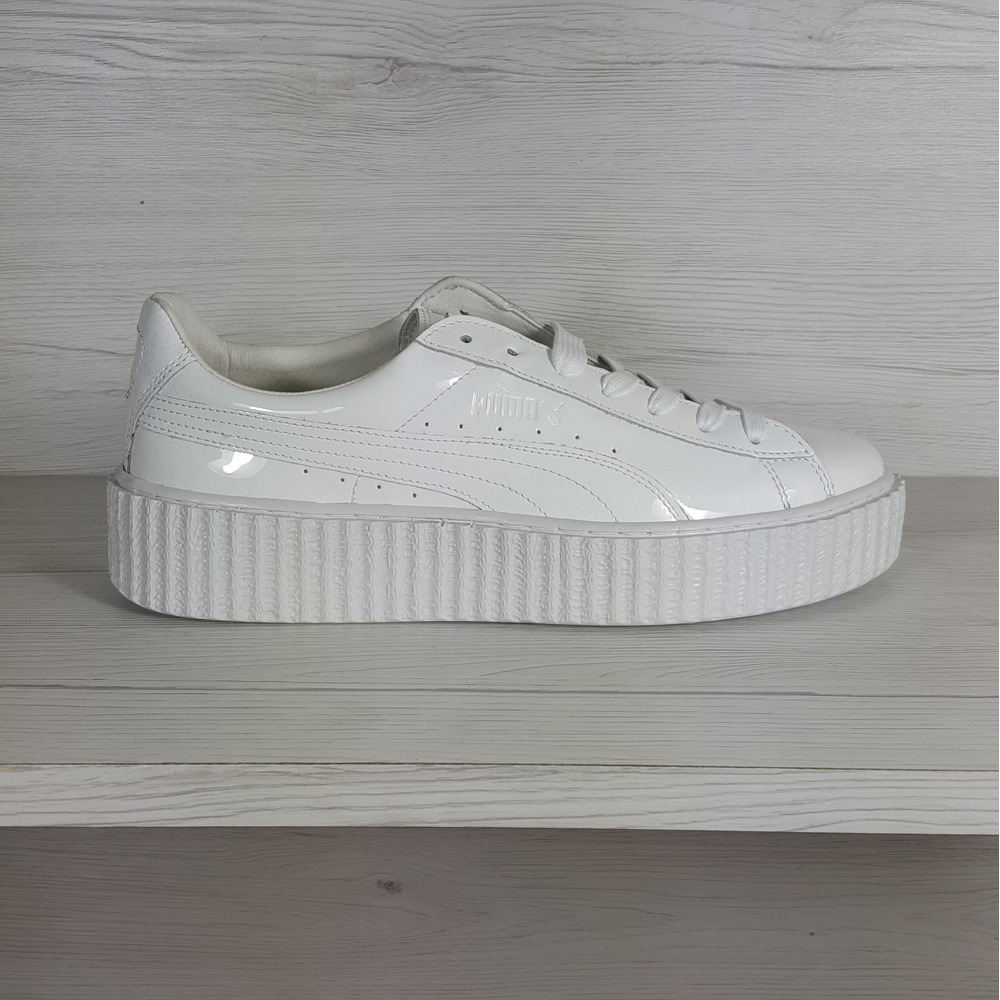 low priced a5695 94d3d Puma Creepers White Glo wearpointwindfarm.co.uk
