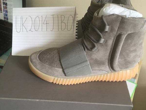 Adidas Yeezy Boost 750 Grey/Gum/Glow - photo 1/6