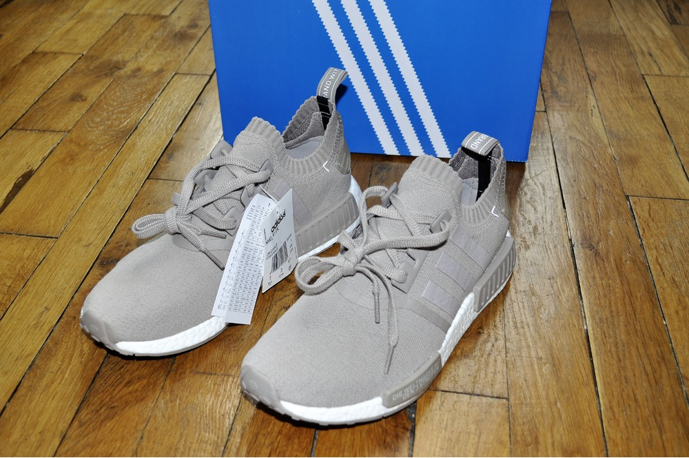 ce03ba03b47ad Adidas NMD R1 Triple White Ultra Boost Trainer Browns Fashion UK