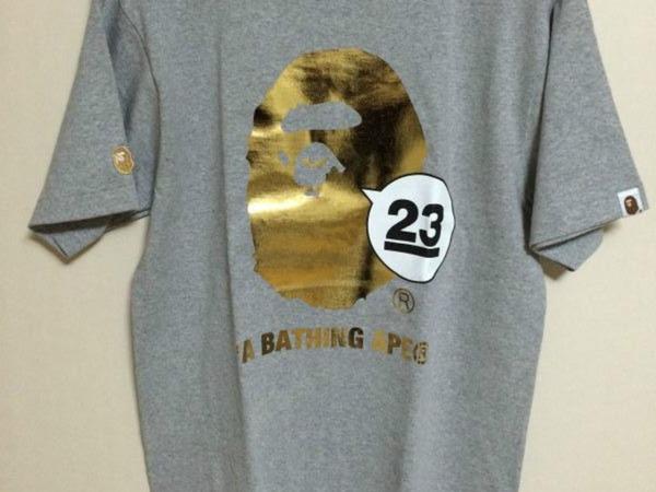 Vintage at klekt for Bape t shirt sizing