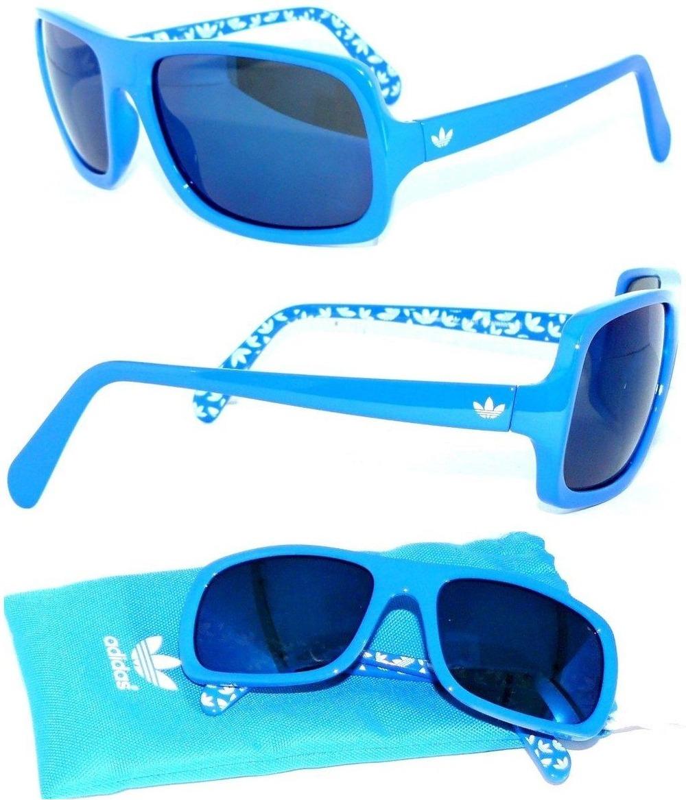 adidas ah32 greenvile sunglass sonnenbrille blue trefoil. Black Bedroom Furniture Sets. Home Design Ideas