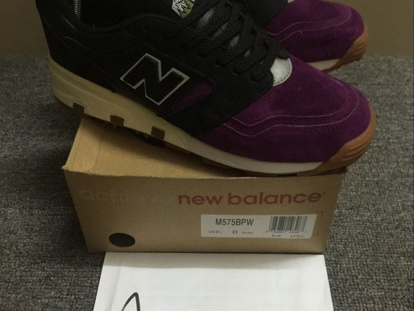 New Balance x solebox M575BPW 'Purple Devil' - photo 1/6