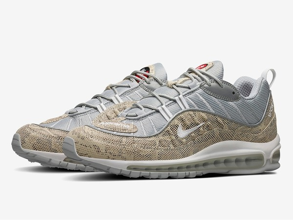 <strong>Nike</strong> <strong>Air</strong> <strong>Max</strong> <strong>98</strong> <strong>x</strong> <strong>Supreme</strong> <strong>Snakeskin</strong> - photo 1/1